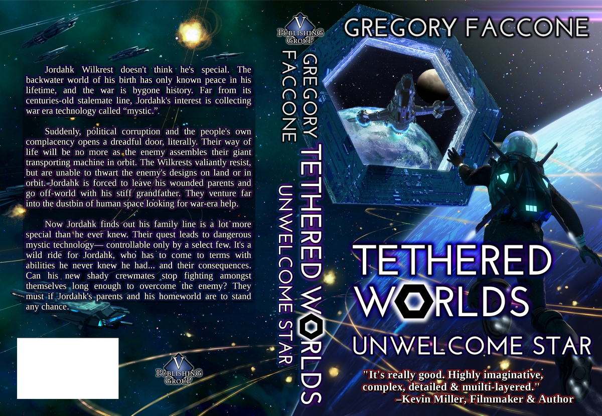 """Notice our new, fine-looking """"techy"""" font. We retained the signature hexagonal egress replacing the """"O"""" in """"Worlds."""""""